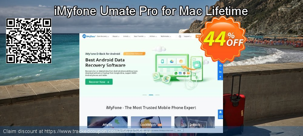 iMyfone Umate Pro for Mac - Family License coupon on Halloween promotions