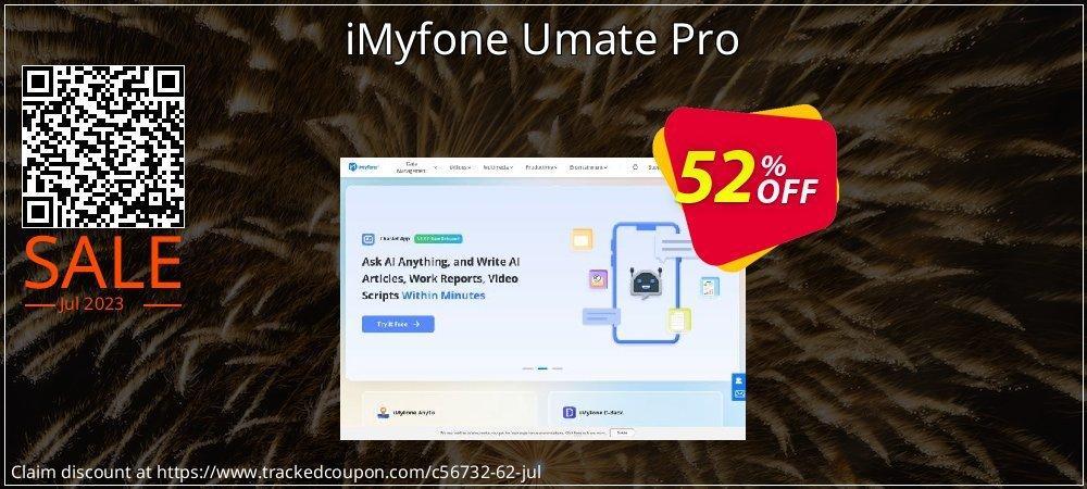 iMyfone Umate Pro coupon on Halloween discount