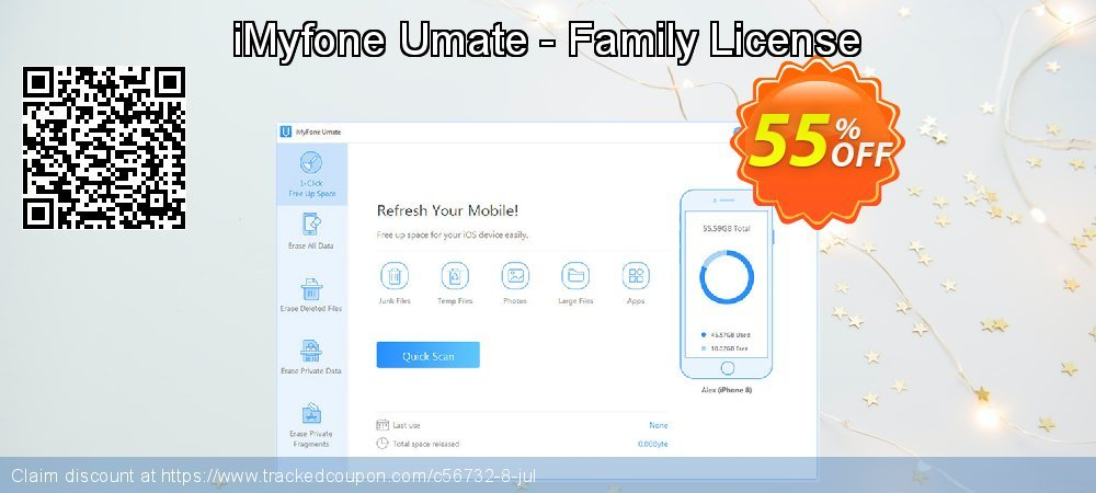 iMyfone Umate - Family License coupon on Halloween discount