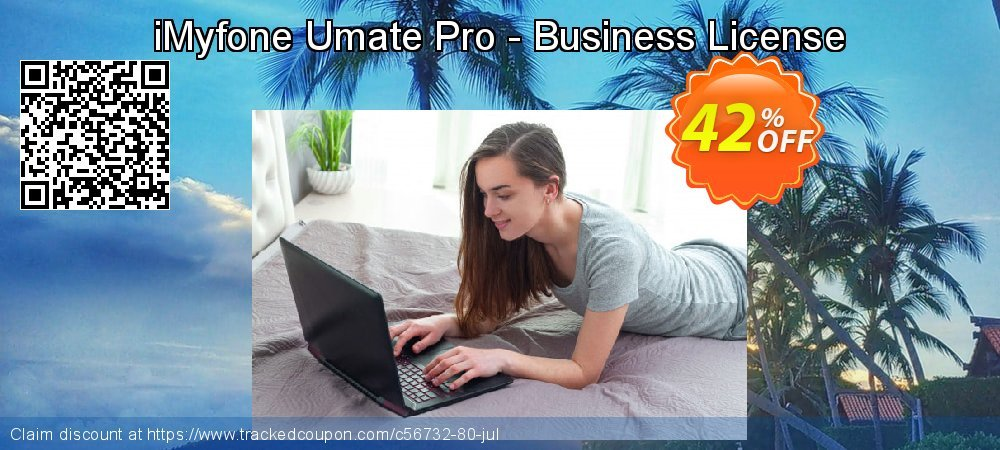 iMyfone Umate Pro - Business License coupon on Halloween discount