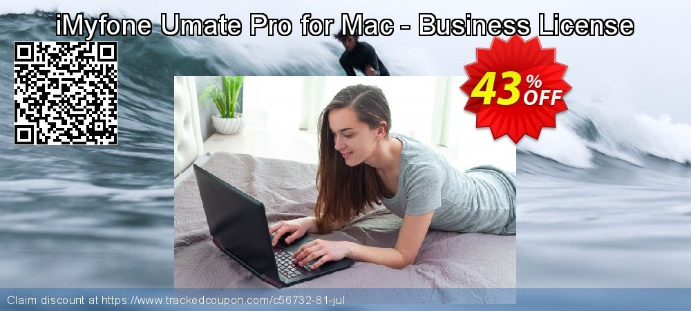 iMyfone Umate Pro for Mac - Business License coupon on Halloween offering discount