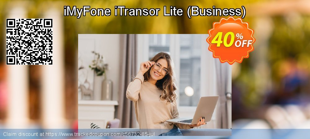 iMyFone iTransor Lite - Business  coupon on Back to School promotions discounts