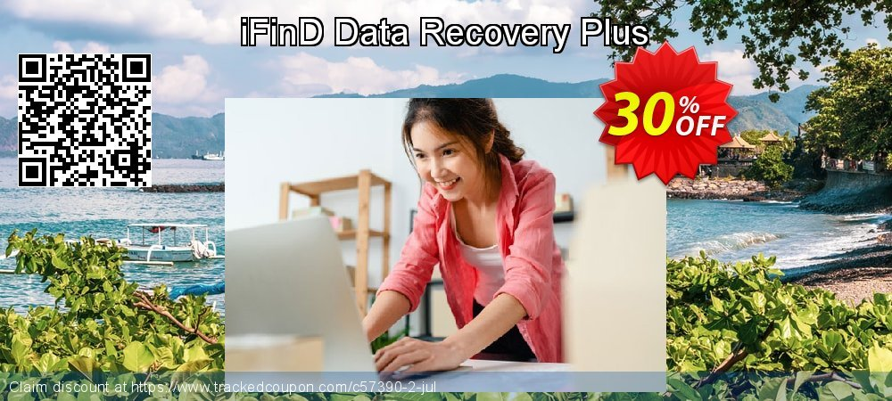 iFinD Data Recovery Plus coupon on July 4th offering discount