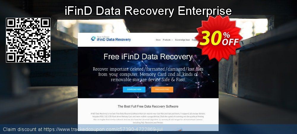 iFinD Data Recovery Enterprise coupon on Father's Day discount