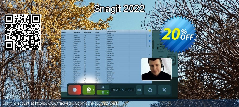 Snagit 2021 coupon on Valentines Day offer