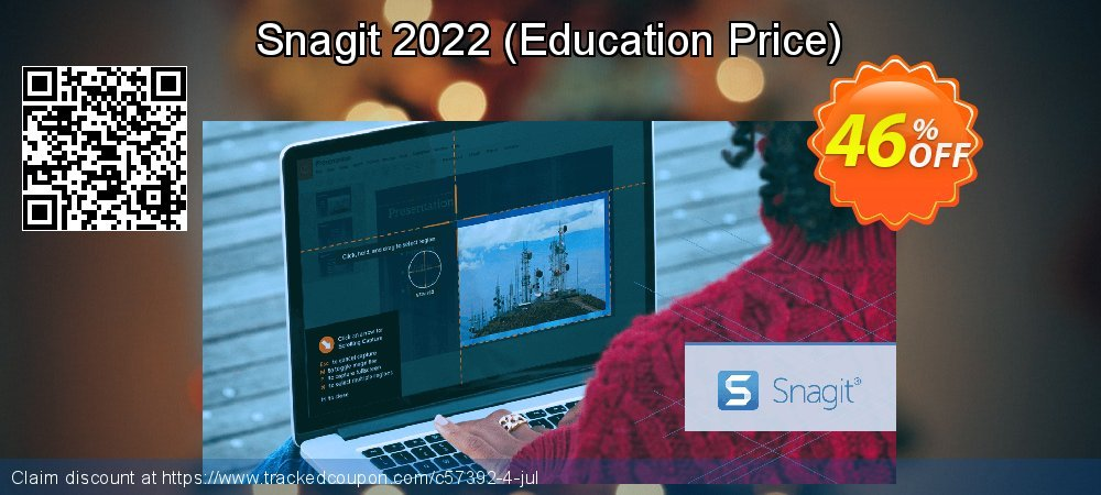 Snagit 2021 - Education Price  coupon on National Family Day deals