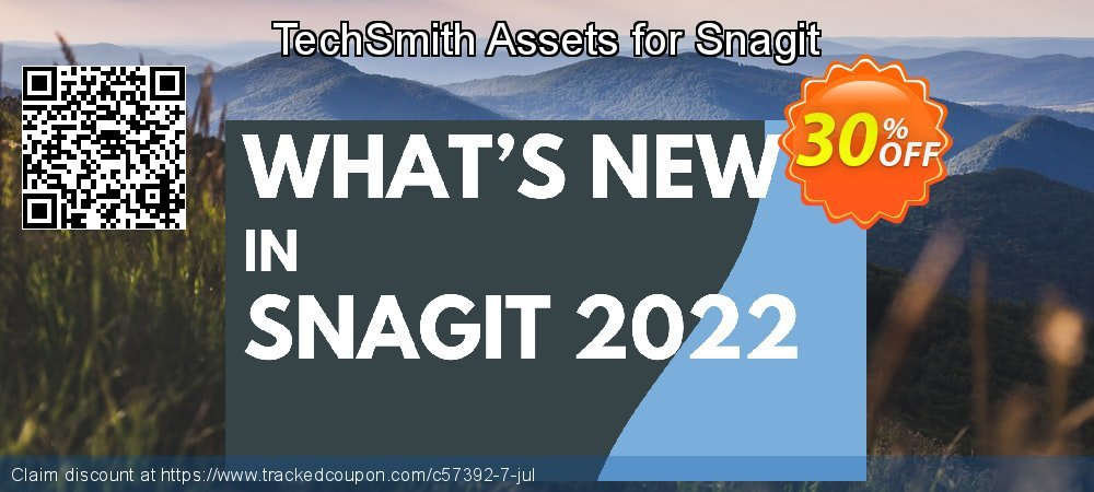 TechSmith Assets for Snagit coupon on Super bowl super sale