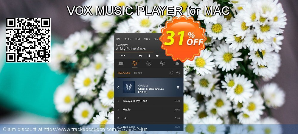 Get 30% OFF VOX MUSIC PLAYER for MAC offering discount