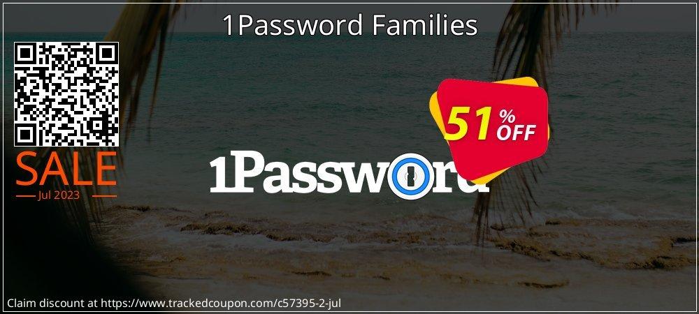 Get 20% OFF 1Password Families discount