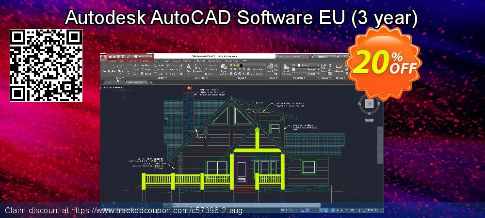 Autodesk AutoCAD Software EU - 3 year  coupon on Mom Day promotions