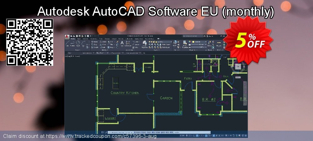 Autodesk AutoCAD Software EU - monthly  coupon on Mothers Day sales