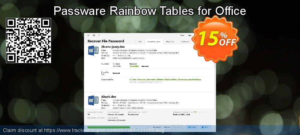 Passware Rainbow Tables for Office coupon on Mom Day offering sales
