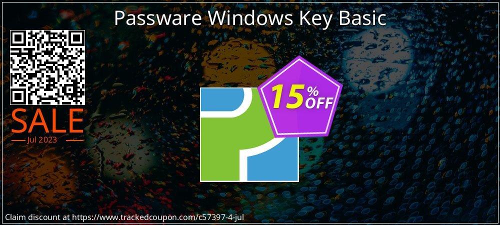 Passware Windows Key Basic coupon on Mom Day offer