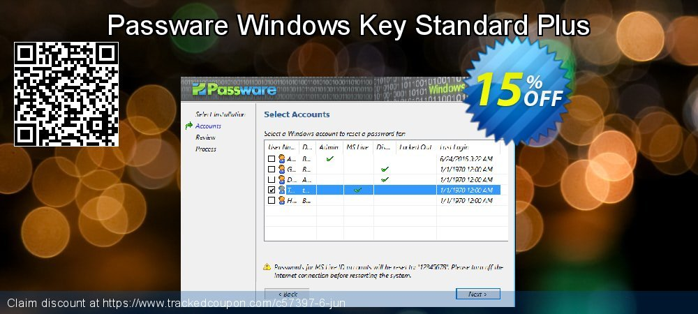 Passware Windows Key Standard Plus coupon on Mom Day offering discount