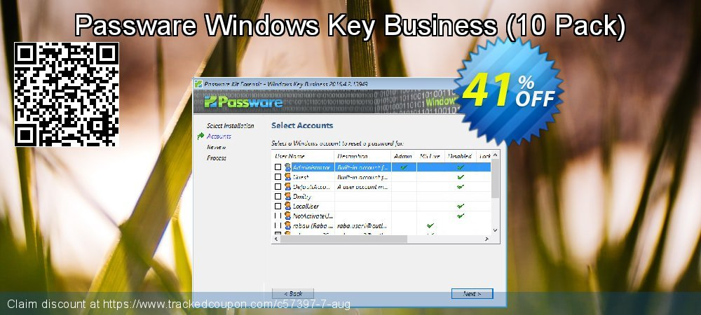 Passware Windows Key Business - 10 Pack  coupon on Mothers Day offering sales