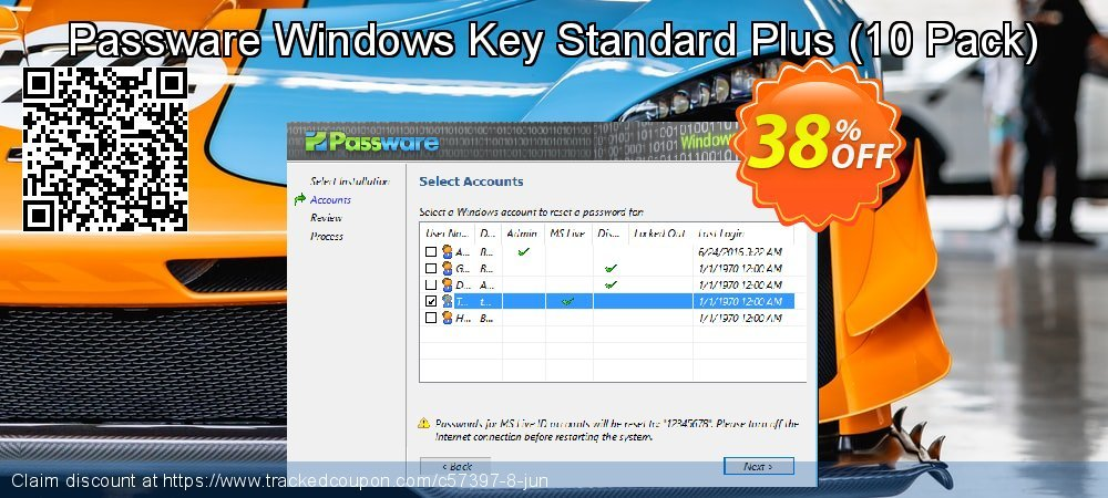 Passware Windows Key Standard Plus - 10 Pack  coupon on Mom Day super sale