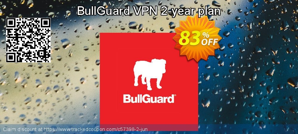 BullGuard VPN 2-year plan coupon on Mom Day deals