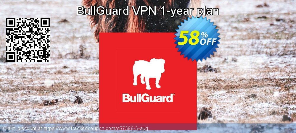 BullGuard VPN 1-year plan coupon on Mothers Day offer