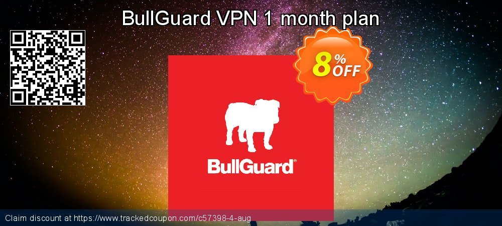 BullGuard VPN 1 month plan coupon on Mom Day discount