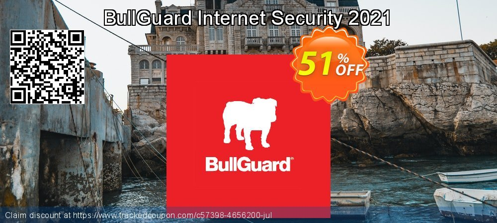 BullGuard Internet Security 2021 coupon on Mom Day offering discount