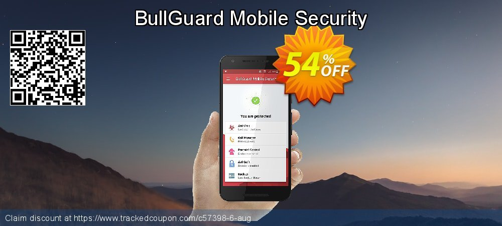 BullGuard Mobile Security coupon on Mom Day offering sales