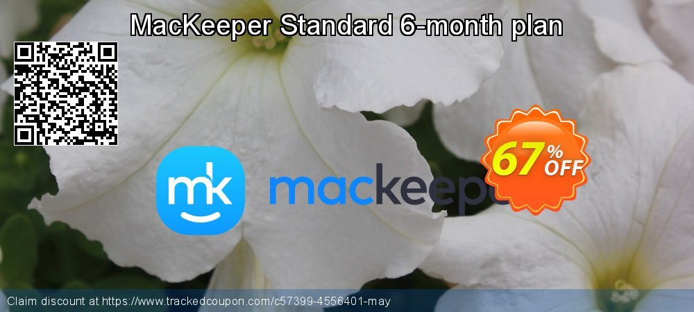 MacKeeper Standard 6-month plan coupon on Mothers Day discounts