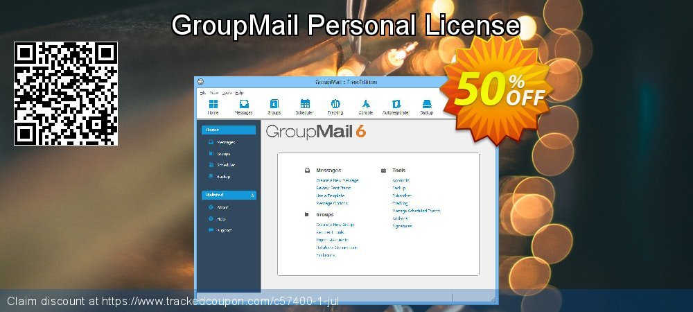 GroupMail Personal License coupon on World UFO Day offering discount