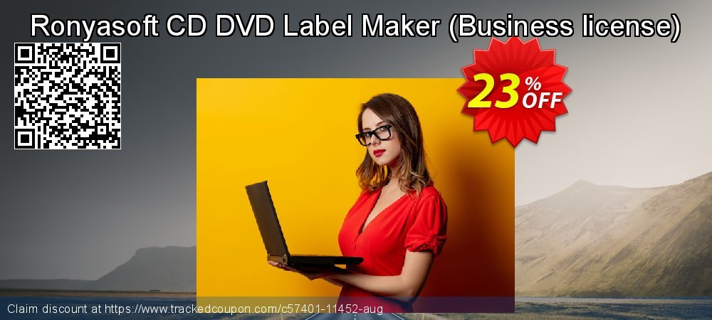 Ronyasoft CD DVD Label Maker - Business license  coupon on World Chocolate Day promotions
