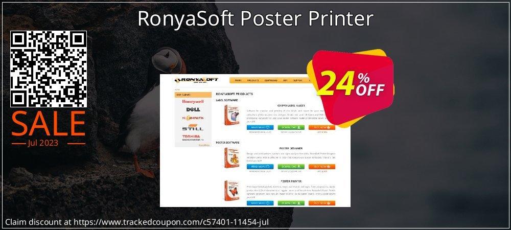 RonyaSoft Poster Printer coupon on World UFO Day deals