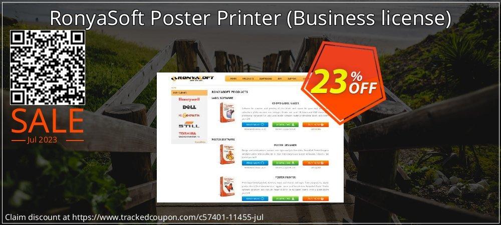 RonyaSoft Poster Printer - Business license  coupon on Eid al-Adha offer