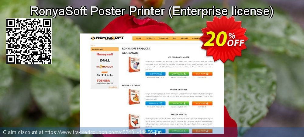 RonyaSoft Poster Printer - Enterprise license  coupon on Video Game Day discount