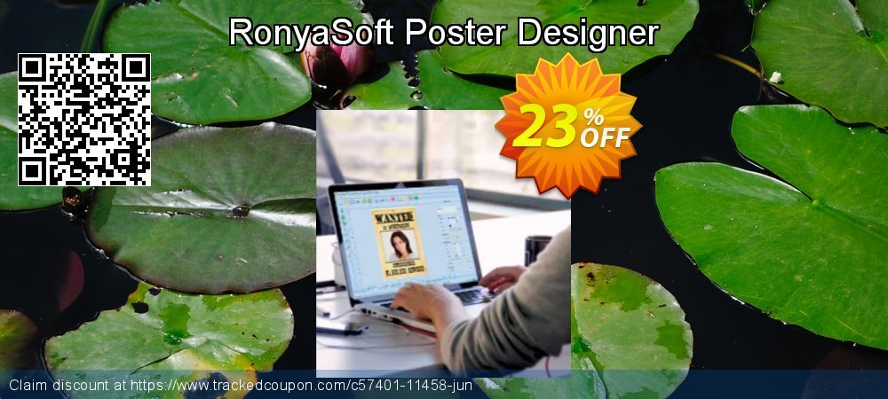 RonyaSoft Poster Designer coupon on Nude Day offering sales