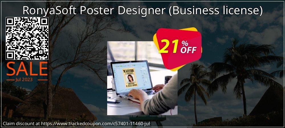 RonyaSoft Poster Designer - Business license  coupon on Emoji Day discounts
