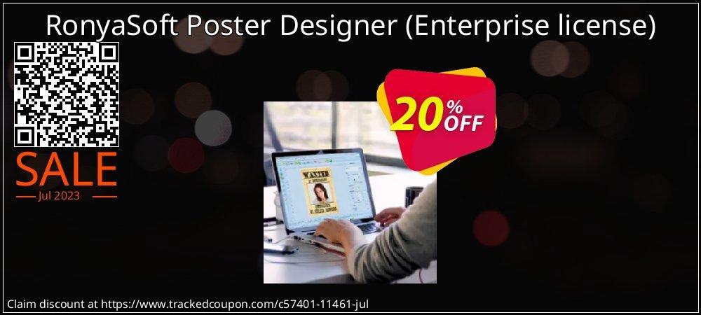 RonyaSoft Poster Designer - Enterprise license  coupon on Parents' Day promotions