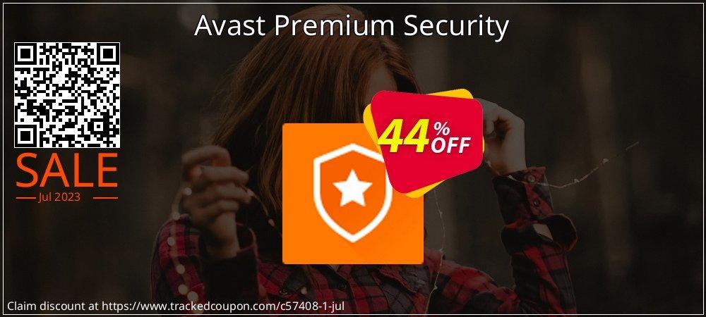 Avast Premium Security coupon on All Saints' Eve super sale