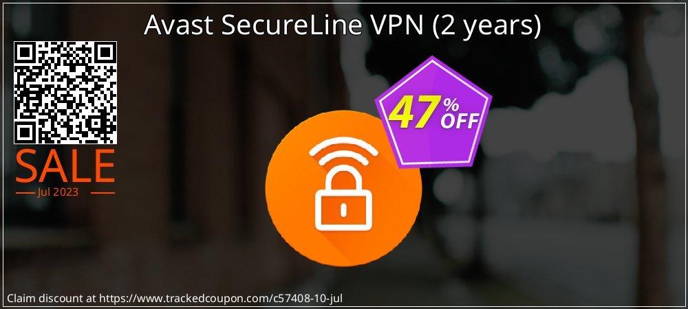 Avast SecureLine VPN - 2 years  coupon on National Noodle Day super sale