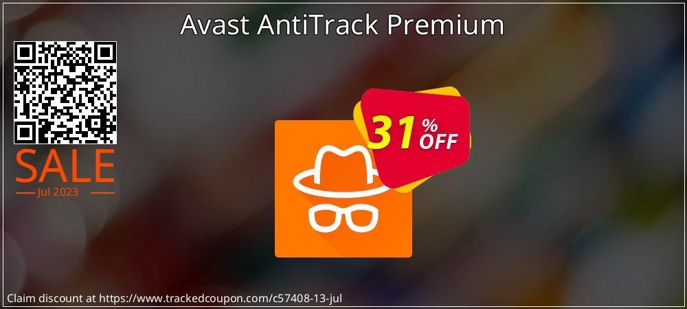 Avast AntiTrack Premium coupon on National Pumpkin Day sales