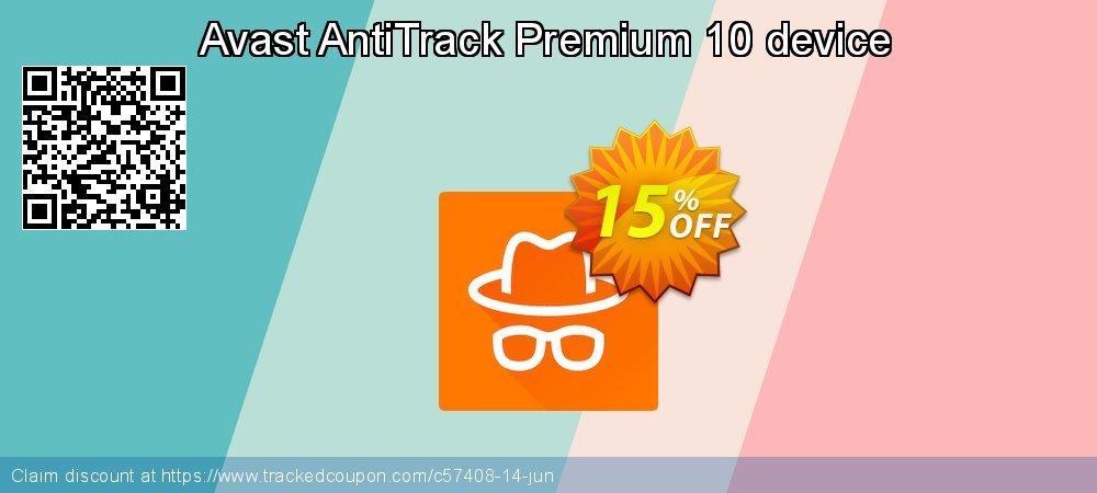 Avast AntiTrack Premium 10 device coupon on All Saints' Eve deals