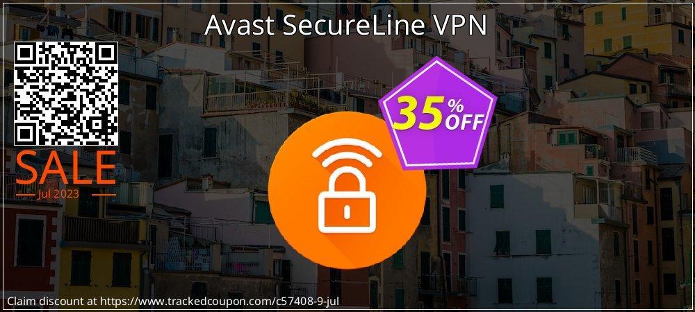 Avast SecureLine VPN coupon on Navy Day offering sales