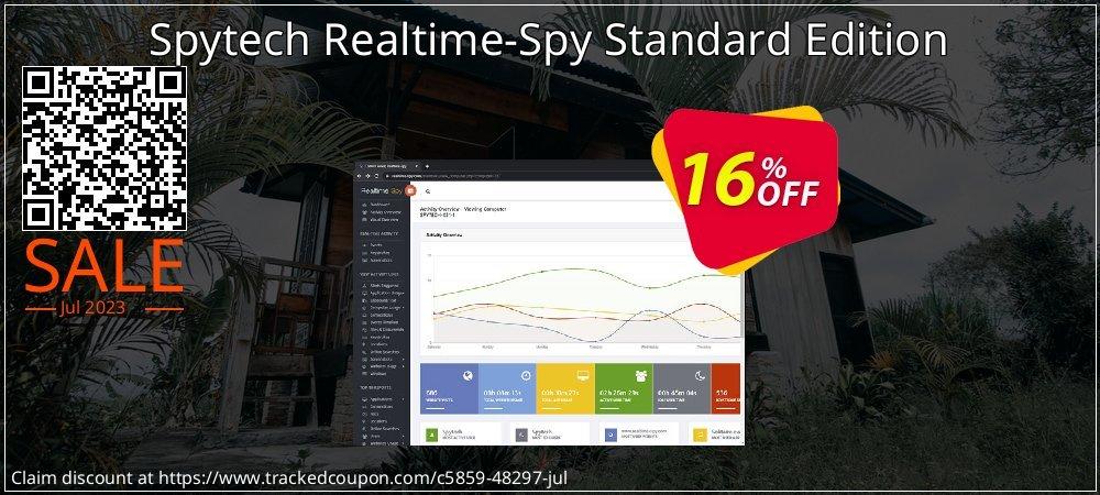 Get 15% OFF Spytech Realtime-Spy Standard Edition promo sales