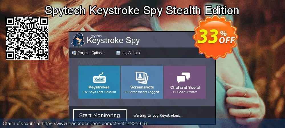 Spytech Keystroke Spy Stealth Edition coupon on Father's Day discount