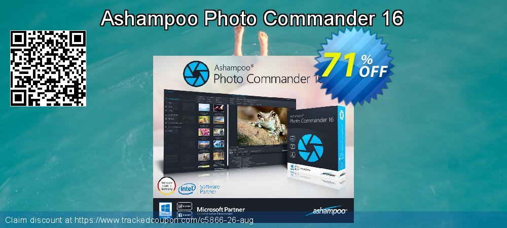 Get 70% OFF Ashampoo Photo Commander promo sales