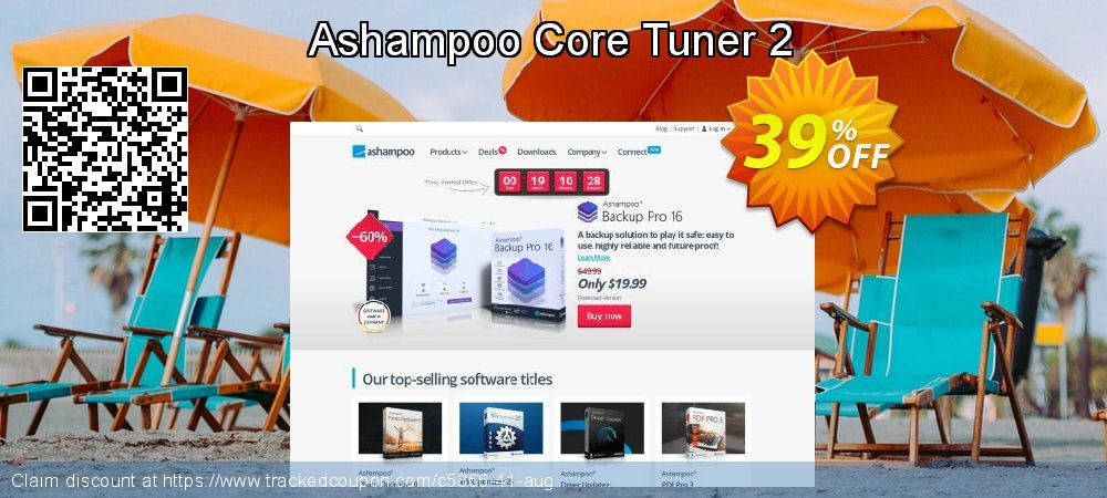 Get 35% OFF Ashampoo Core Tuner 2 promotions