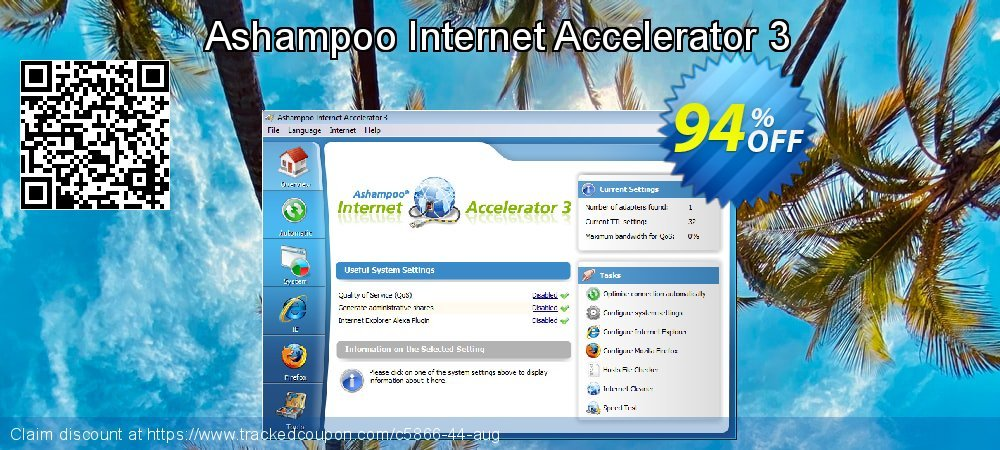 Ashampoo Internet Accelerator 3 coupon on Parents' Day offer