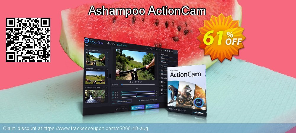 Ashampoo ActionCam coupon on World Chocolate Day super sale