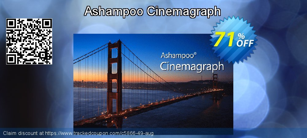 Ashampoo Cinemagraph coupon on National French Fry Day discounts