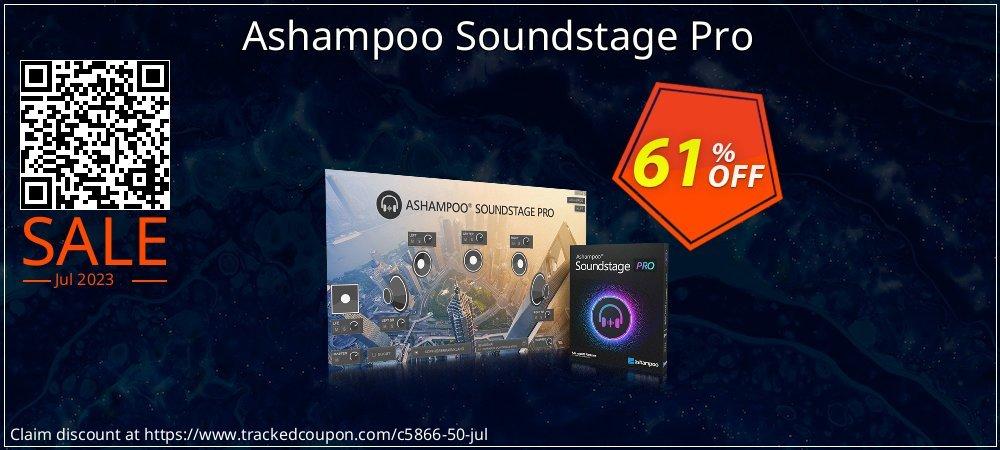Get 60% OFF Ashampoo Soundstage Pro offering sales
