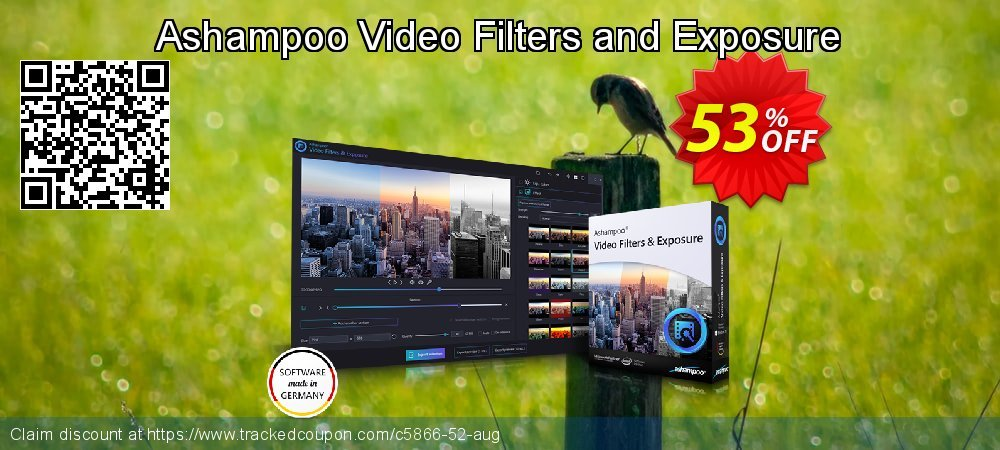 Ashampoo Video Filters and Exposure coupon on Video Game Day deals