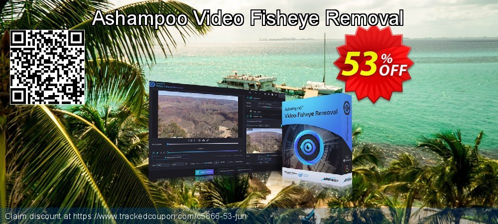 Ashampoo Video Fisheye Removal coupon on World Population Day offer