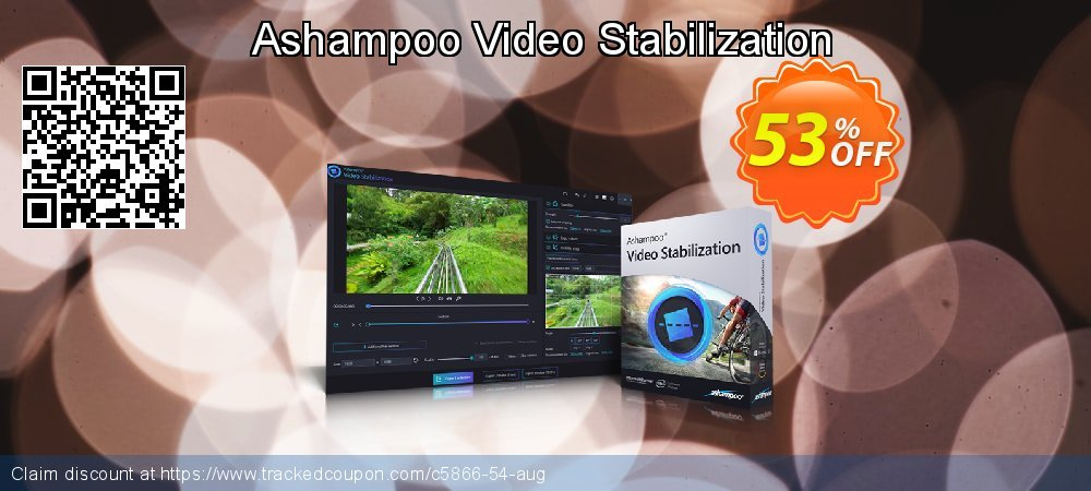 Ashampoo Video Stabilization coupon on Nude Day discount